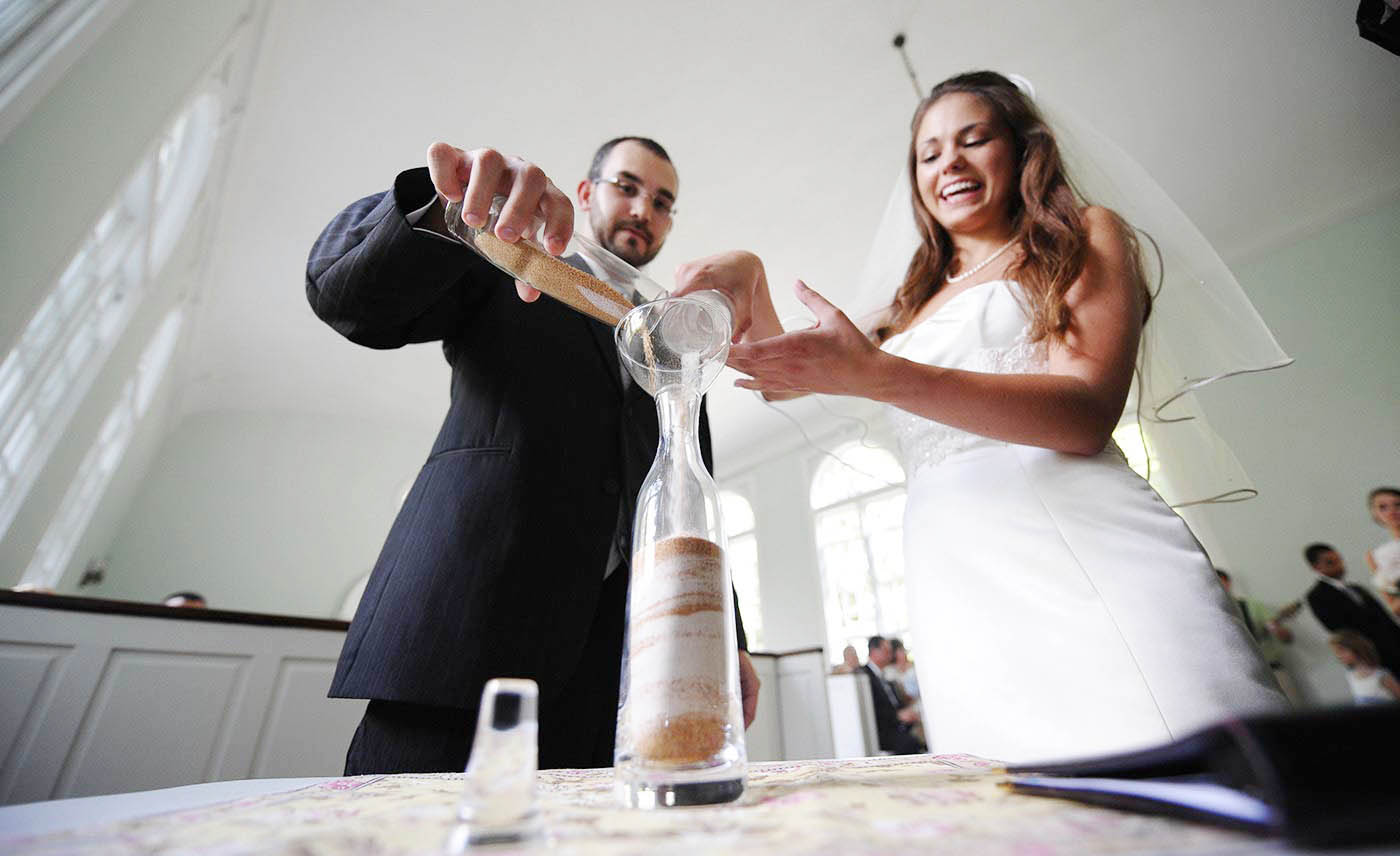 Ortan Plantation chapel, Sand ceremony, creative photo
